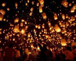 Небесный фонарик своими рукамиурок Китайские фонарики