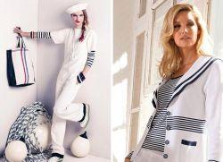 Коллекция одежды в морском стиле