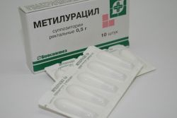 Метилурациловые свечи в гинекологии
