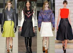 Модные юбки 2013