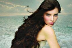 морская соль для волос