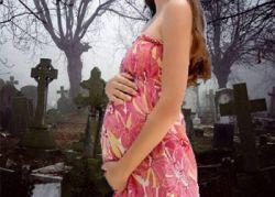 Почему беременным нельзя ходить на кладбище, Метки: можно, ли