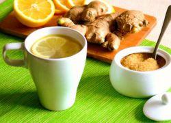 чай с имбирем от простуды