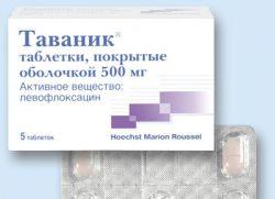 чем заменить левофлоксацин