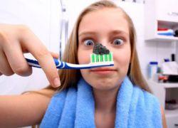 Уголь активированный для очистки зубов