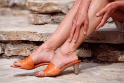 Чем мазать вывих ноги