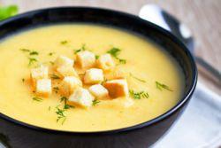 суп пюре из цветной капусты постный