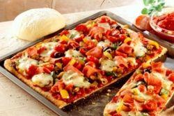 рецепт домашней пиццы на кефире