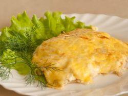 Куриное филе под сыром
