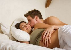 Оральный секс на первых неделях беременности