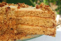 торт горіховий рецепт фото