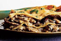 овощная лазанья с грибами