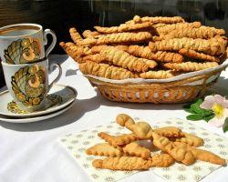 печенье песочное через мясорубку рецепт с фото