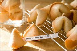 рецепт печенья с предсказаниями