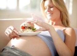 Питание во время беременности меню
