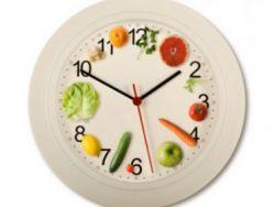 Почасовая схема правильного питания