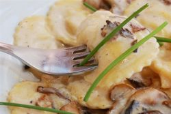 равиоли с грибами рецепт