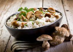 Ризотто с белыми грибами рецепт