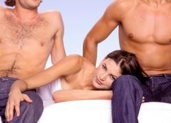 Шведская семья секс втроем