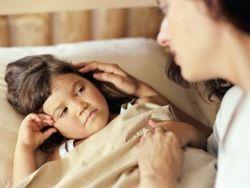 Сухой кашель у ребёнка