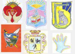 Нарисовать семейный герб для школы