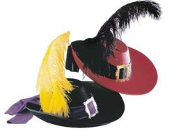 Шляпа мушкетера своими руками