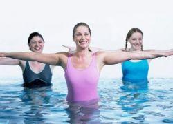 Упражнения для спины в бассейне 1