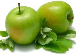 зеленое яблоко полезные свойства