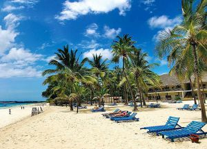 Инфраструктура пляжа Малинди