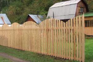 Деревянный забор своими руками14