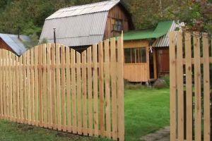 Деревянный забор своими руками15