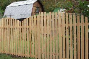 Деревянный забор своими руками16
