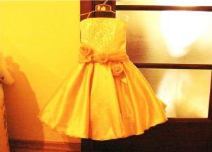 новогоднее платье для девочки своими руками 16
