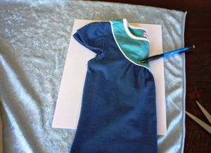 новогоднее платье для девочки своими руками 18