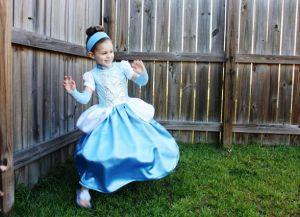 новогоднее платье для девочки своими руками 29