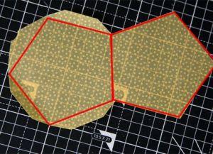 Объемная звезда из бумаги 33