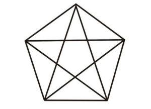 Объемная звезда из бумаги 35