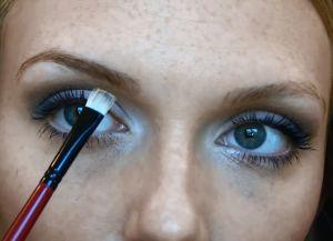Как красить брови тенями поэтапно 4