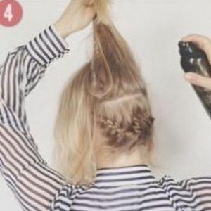 очень красивые прически для коротких волос 4