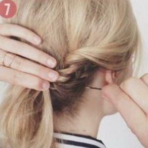 очень красивые прически для коротких волос 7