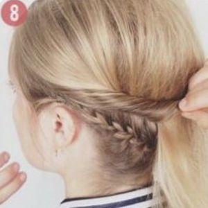 очень красивые прически для коротких волос 8