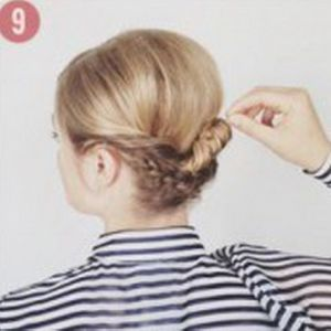 очень красивые прически для коротких волос 9