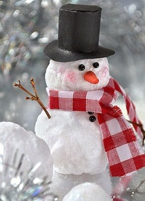 поделка снеговик своими руками  25