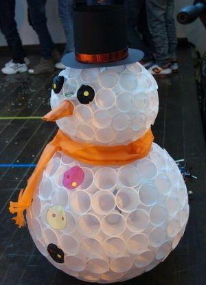 поделка снеговик своими руками 31