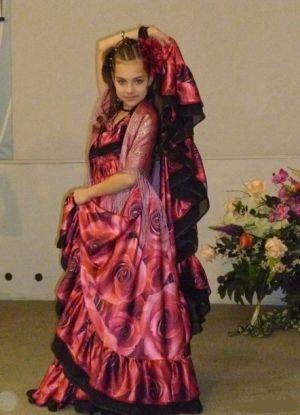 Яркая цыганская юбка своими руками