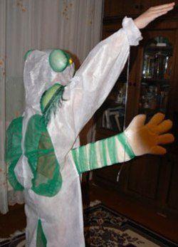 Костюм инопланетянина своими руками2