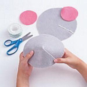 Как сделать хвостик мышки своими руками