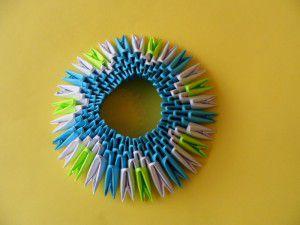 Модульное оригами - конфетница12