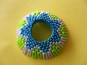 Модульное оригами - конфетница13