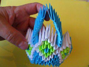 Модульное оригами - конфетница18